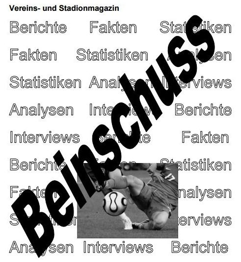 Beinschuss 298