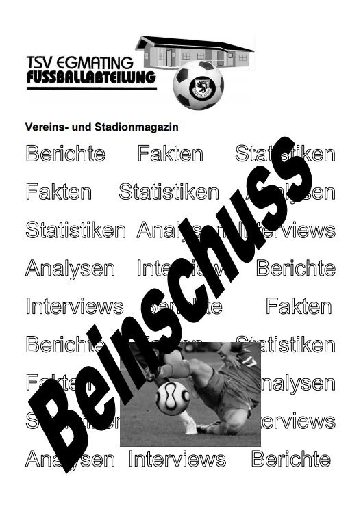 beinschuss