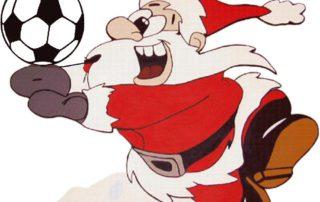 weihnachtsmannfussball