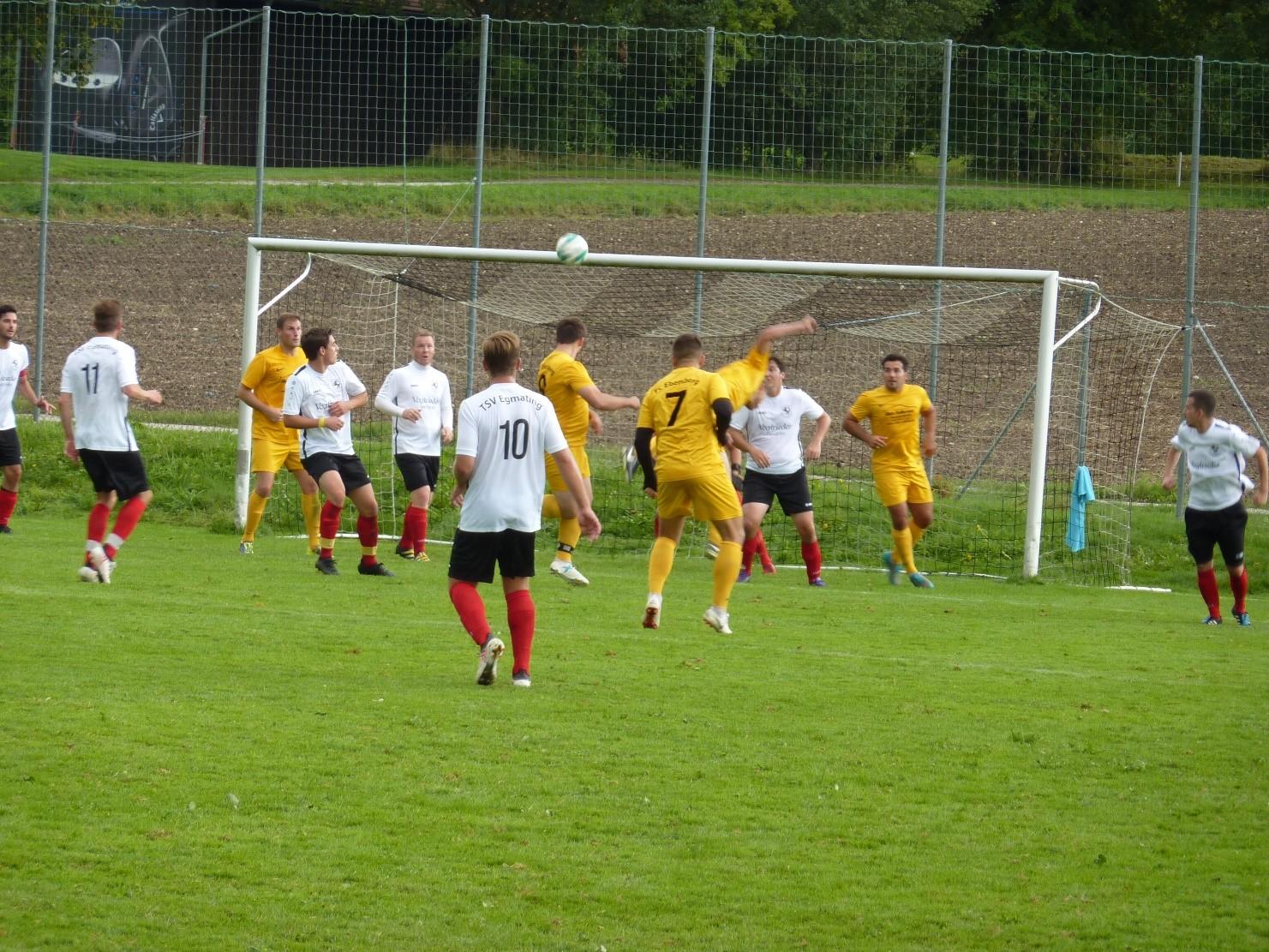 TSV Egmating – FC Ebersberg 2 : 1 (1:0)