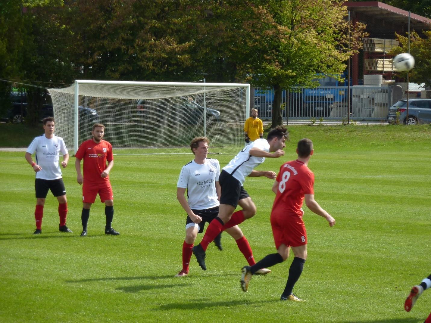 VfB Forstinning 2 – TSV Egmating  3 : 2 (1:1)
